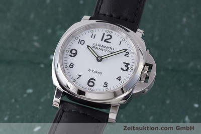 PANERAI LUMINOR STEEL MANUAL WINDING KAL. P.5000 LP: 6400EUR [162044]