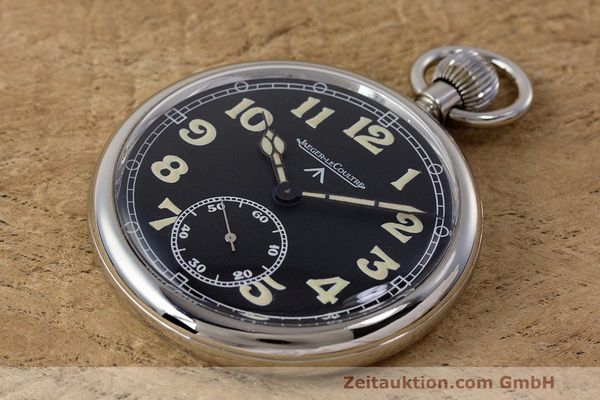 Used luxury watch Jaeger Le Coultre Pocket Watch chromed brass manual winding Kal. 46712 VINTAGE  | 162045 01