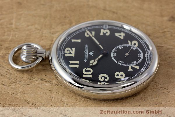 Used luxury watch Jaeger Le Coultre Pocket Watch chromed brass manual winding Kal. 46712 VINTAGE  | 162045 05