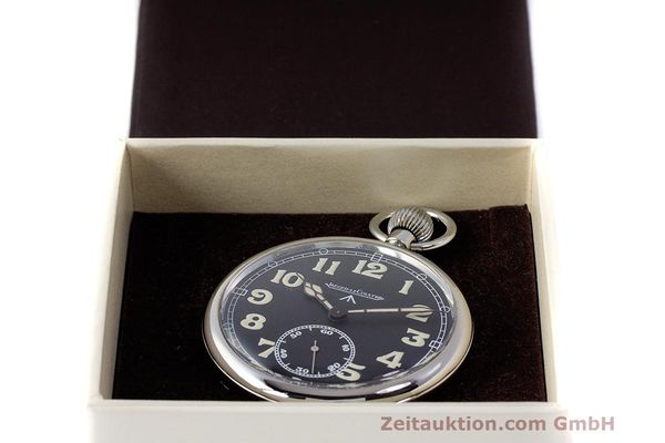 Used luxury watch Jaeger Le Coultre Pocket Watch chromed brass manual winding Kal. 46712 VINTAGE  | 162045 07