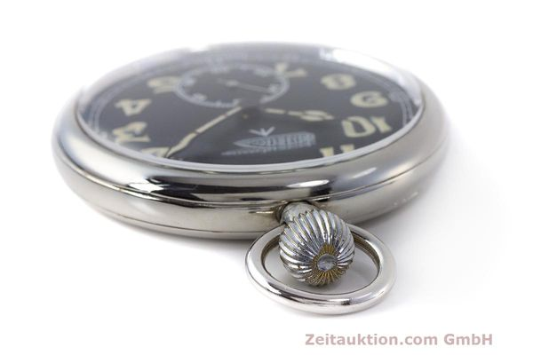 Used luxury watch Jaeger Le Coultre Pocket Watch chromed brass manual winding Kal. 46712 VINTAGE  | 162045 08
