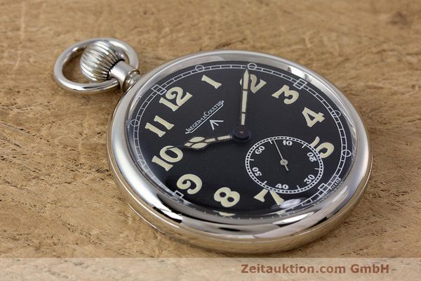 Used luxury watch Jaeger Le Coultre Pocket Watch chromed brass manual winding Kal. 46712 VINTAGE  | 162045 13