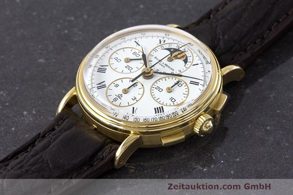 Used luxury watch Baume & Mercier * chronograph 18 ct gold manual winding Kal. LWO 1883 Ref. 86102.099  | 162046 01