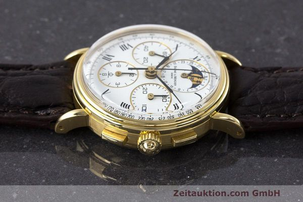 Used luxury watch Baume & Mercier * chronograph 18 ct gold manual winding Kal. LWO 1883 Ref. 86102.099  | 162046 05
