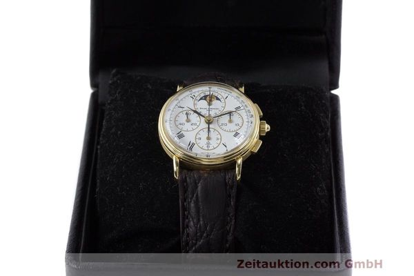 Used luxury watch Baume & Mercier * chronograph 18 ct gold manual winding Kal. LWO 1883 Ref. 86102.099  | 162046 07
