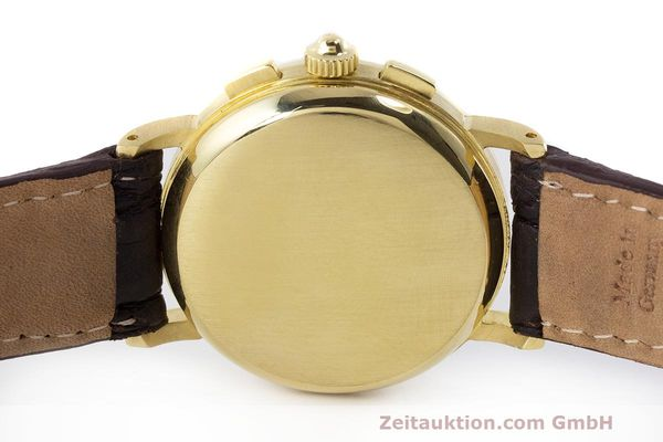 Used luxury watch Baume & Mercier * chronograph 18 ct gold manual winding Kal. LWO 1883 Ref. 86102.099  | 162046 09
