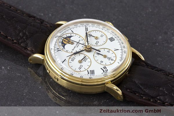Used luxury watch Baume & Mercier * chronograph 18 ct gold manual winding Kal. LWO 1883 Ref. 86102.099  | 162046 14