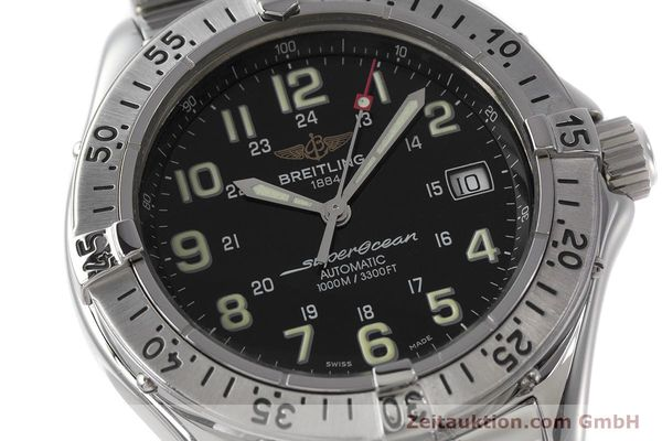 Used luxury watch Breitling Superocean steel automatic Kal. B17 ETA 2824-2 Ref. A17040  | 162048 02