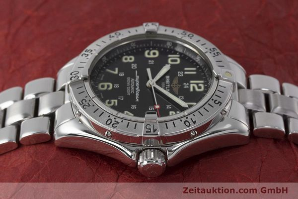 Used luxury watch Breitling Superocean steel automatic Kal. B17 ETA 2824-2 Ref. A17040  | 162048 05