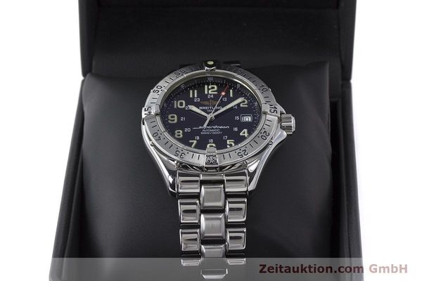 Used luxury watch Breitling Superocean steel automatic Kal. B17 ETA 2824-2 Ref. A17040  | 162048 07