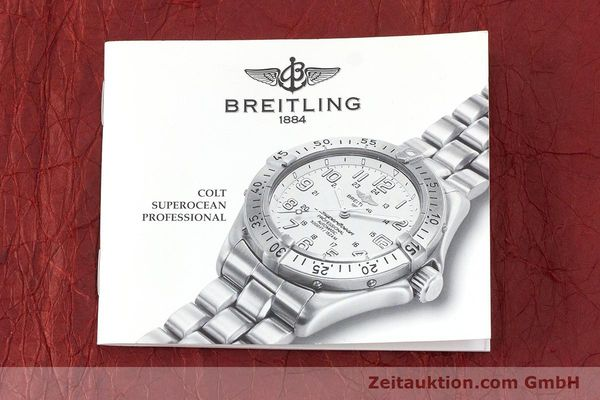 Used luxury watch Breitling Superocean steel automatic Kal. B17 ETA 2824-2 Ref. A17040  | 162048 13