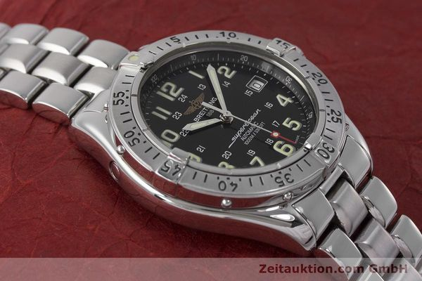 Used luxury watch Breitling Superocean steel automatic Kal. B17 ETA 2824-2 Ref. A17040  | 162048 16