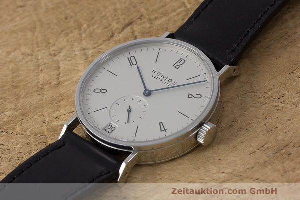 Used luxury watch Nomos Tangomat steel automatic Kal. Zeta  | 162051 01
