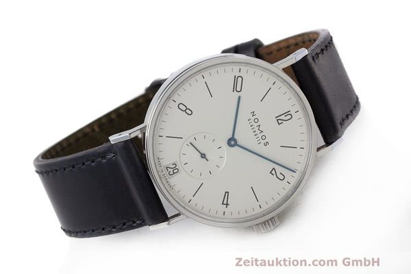Used luxury watch Nomos Tangomat steel automatic Kal. Zeta  | 162051 03