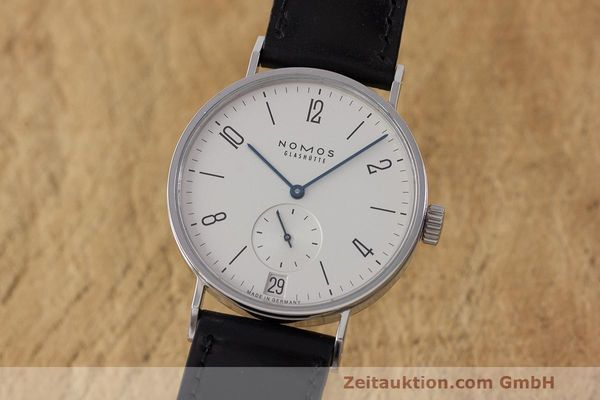 Used luxury watch Nomos Tangomat steel automatic Kal. Zeta  | 162051 04