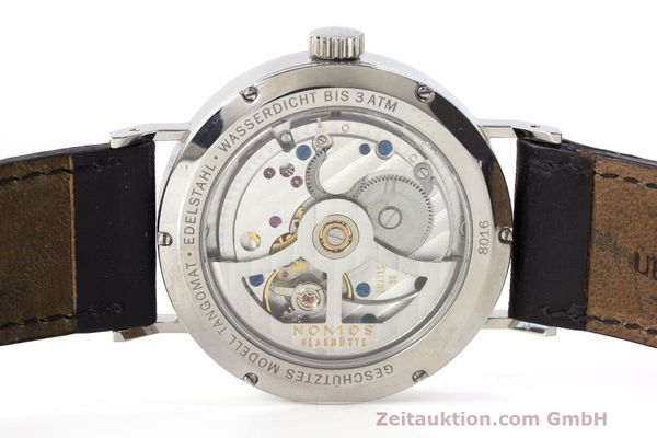 Used luxury watch Nomos Tangomat steel automatic Kal. Zeta  | 162051 09
