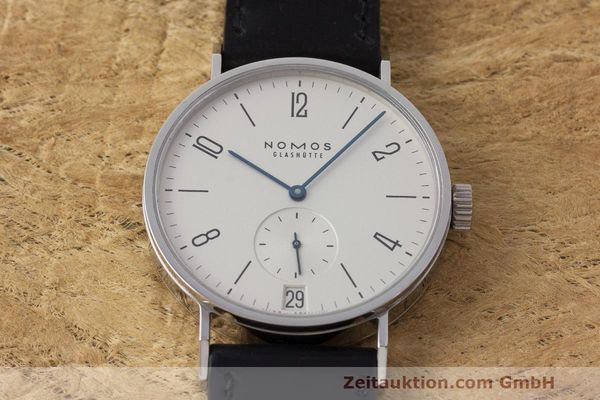 Used luxury watch Nomos Tangomat steel automatic Kal. Zeta  | 162051 16