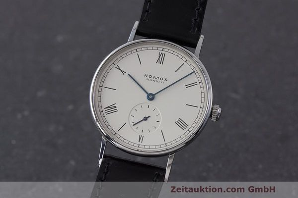 NOMOS LUDWIG STEEL MANUAL WINDING KAL. ETA 7001 LP: 1580EUR [162052]