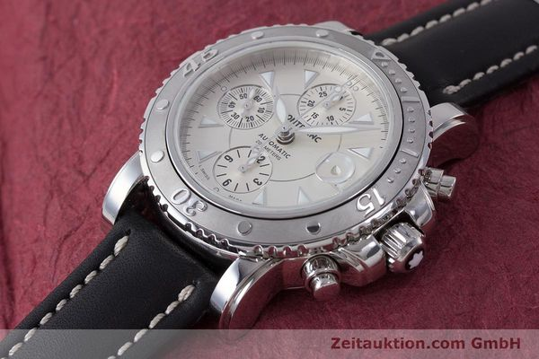 Used luxury watch Montblanc Sport Chronograph chronograph steel automatic Kal. 4810501 Eta 7750 Ref. 7034  | 162053 01