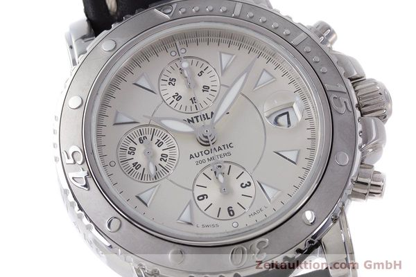 Used luxury watch Montblanc Sport Chronograph chronograph steel automatic Kal. 4810501 Eta 7750 Ref. 7034  | 162053 02