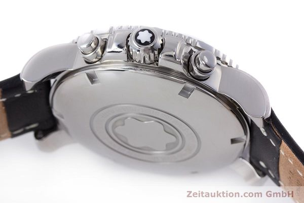 Used luxury watch Montblanc Sport Chronograph chronograph steel automatic Kal. 4810501 Eta 7750 Ref. 7034  | 162053 08