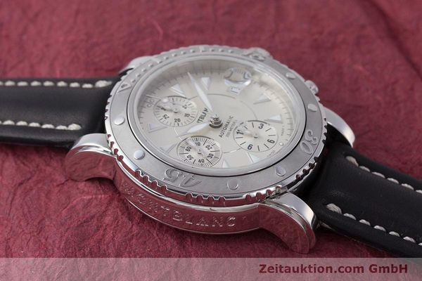Used luxury watch Montblanc Sport Chronograph chronograph steel automatic Kal. 4810501 Eta 7750 Ref. 7034  | 162053 13