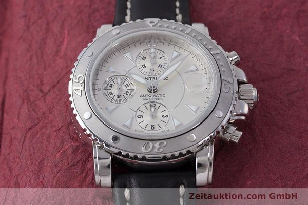 Used luxury watch Montblanc Sport Chronograph chronograph steel automatic Kal. 4810501 Eta 7750 Ref. 7034  | 162053 14