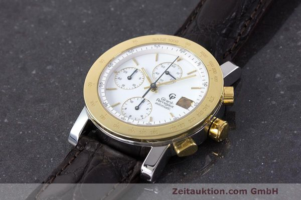 Used luxury watch Girard Perregaux 7000 chronograph steel / gold automatic Kal. 800-114 Ref. 7000  | 162054 01