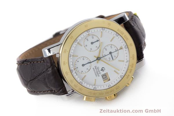 Used luxury watch Girard Perregaux 7000 chronograph steel / gold automatic Kal. 800-114 Ref. 7000  | 162054 03