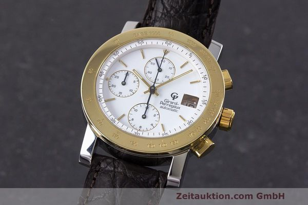 Used luxury watch Girard Perregaux 7000 chronograph steel / gold automatic Kal. 800-114 Ref. 7000  | 162054 04