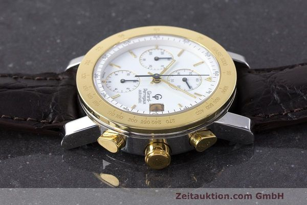 Used luxury watch Girard Perregaux 7000 chronograph steel / gold automatic Kal. 800-114 Ref. 7000  | 162054 05