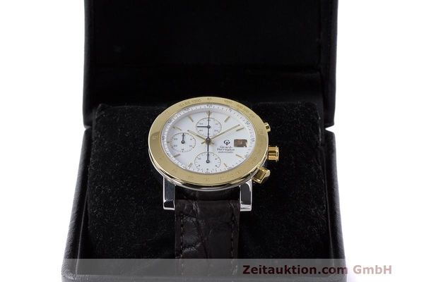 Used luxury watch Girard Perregaux 7000 chronograph steel / gold automatic Kal. 800-114 Ref. 7000  | 162054 07