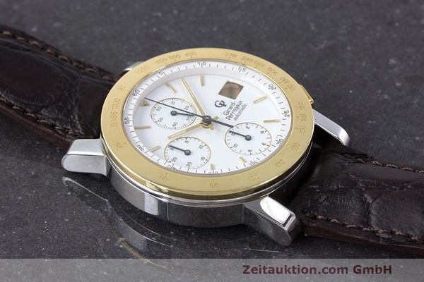 Used luxury watch Girard Perregaux 7000 chronograph steel / gold automatic Kal. 800-114 Ref. 7000  | 162054 12