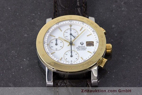 Used luxury watch Girard Perregaux 7000 chronograph steel / gold automatic Kal. 800-114 Ref. 7000  | 162054 13