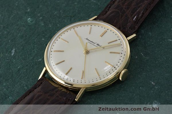 Used luxury watch IWC Portofino 18 ct gold manual winding Kal. 401  | 162059 01