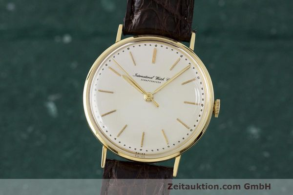 Used luxury watch IWC Portofino 18 ct gold manual winding Kal. 401  | 162059 04