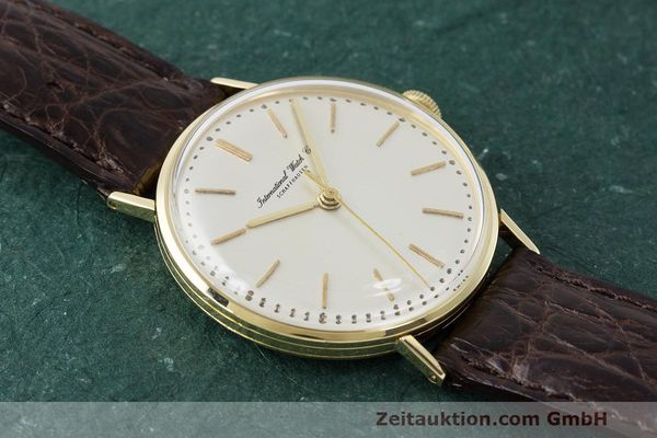 Used luxury watch IWC Portofino 18 ct gold manual winding Kal. 401  | 162059 13
