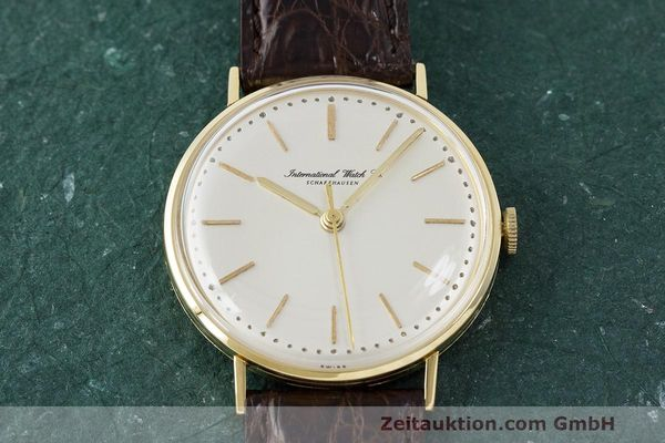 Used luxury watch IWC Portofino 18 ct gold manual winding Kal. 401  | 162059 14