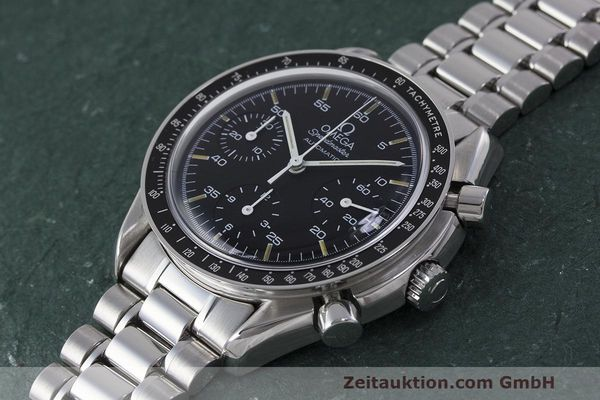 Used luxury watch Omega Speedmaster chronograph steel automatic Kal. 1140 Ref. 3510.50.00  | 162063 01
