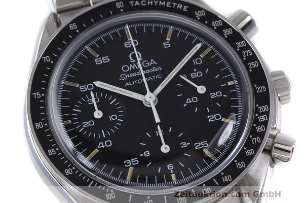 Used luxury watch Omega Speedmaster chronograph steel automatic Kal. 1140 Ref. 3510.50.00  | 162063 02