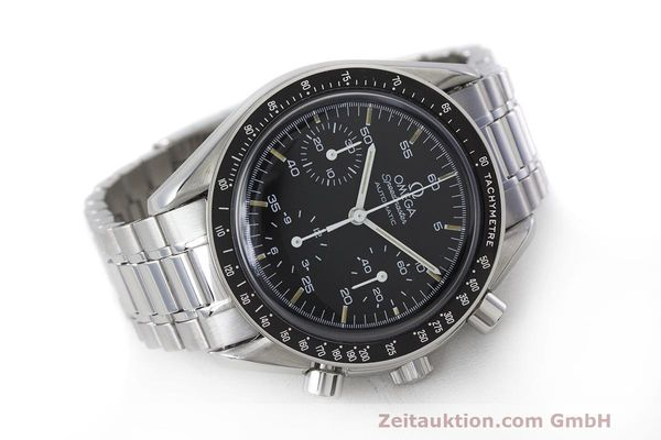 Used luxury watch Omega Speedmaster chronograph steel automatic Kal. 1140 Ref. 3510.50.00  | 162063 03