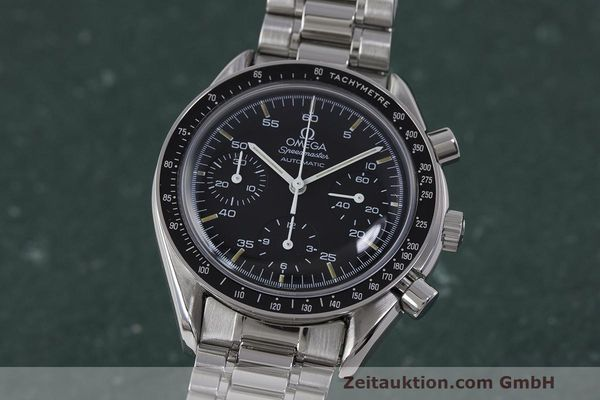 Used luxury watch Omega Speedmaster chronograph steel automatic Kal. 1140 Ref. 3510.50.00  | 162063 04
