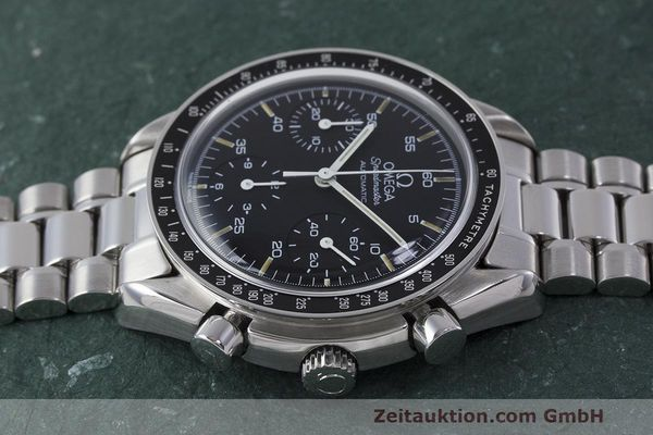Used luxury watch Omega Speedmaster chronograph steel automatic Kal. 1140 Ref. 3510.50.00  | 162063 05