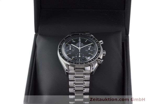 Used luxury watch Omega Speedmaster chronograph steel automatic Kal. 1140 Ref. 3510.50.00  | 162063 07