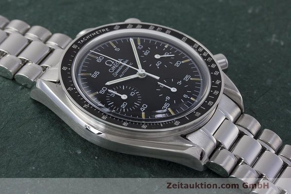 Used luxury watch Omega Speedmaster chronograph steel automatic Kal. 1140 Ref. 3510.50.00  | 162063 15