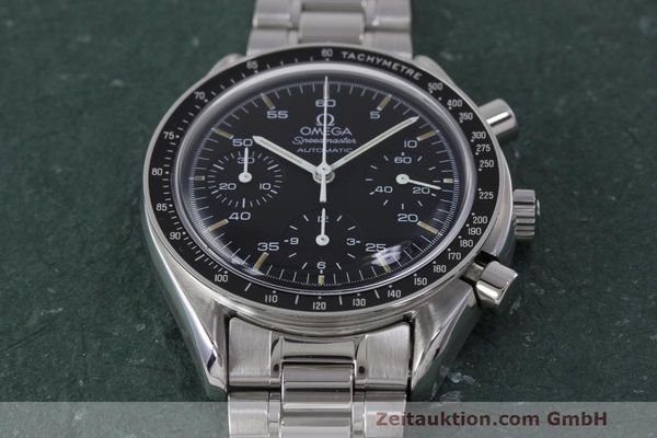 Used luxury watch Omega Speedmaster chronograph steel automatic Kal. 1140 Ref. 3510.50.00  | 162063 16