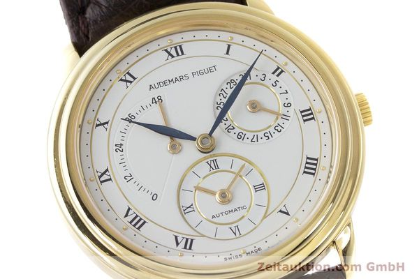 Used luxury watch Audemars Piguet Dual Time 18 ct gold automatic Kal. 2129  | 162072 02