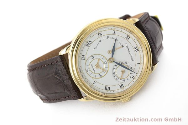 Used luxury watch Audemars Piguet Dual Time 18 ct gold automatic Kal. 2129  | 162072 03