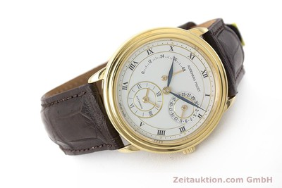 AUDEMARS PIGUET DUAL TIME 18 CT GOLD AUTOMATIC KAL. 2129 LP: 33800EUR [162072]