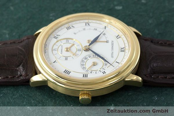 Used luxury watch Audemars Piguet Dual Time 18 ct gold automatic Kal. 2129  | 162072 05